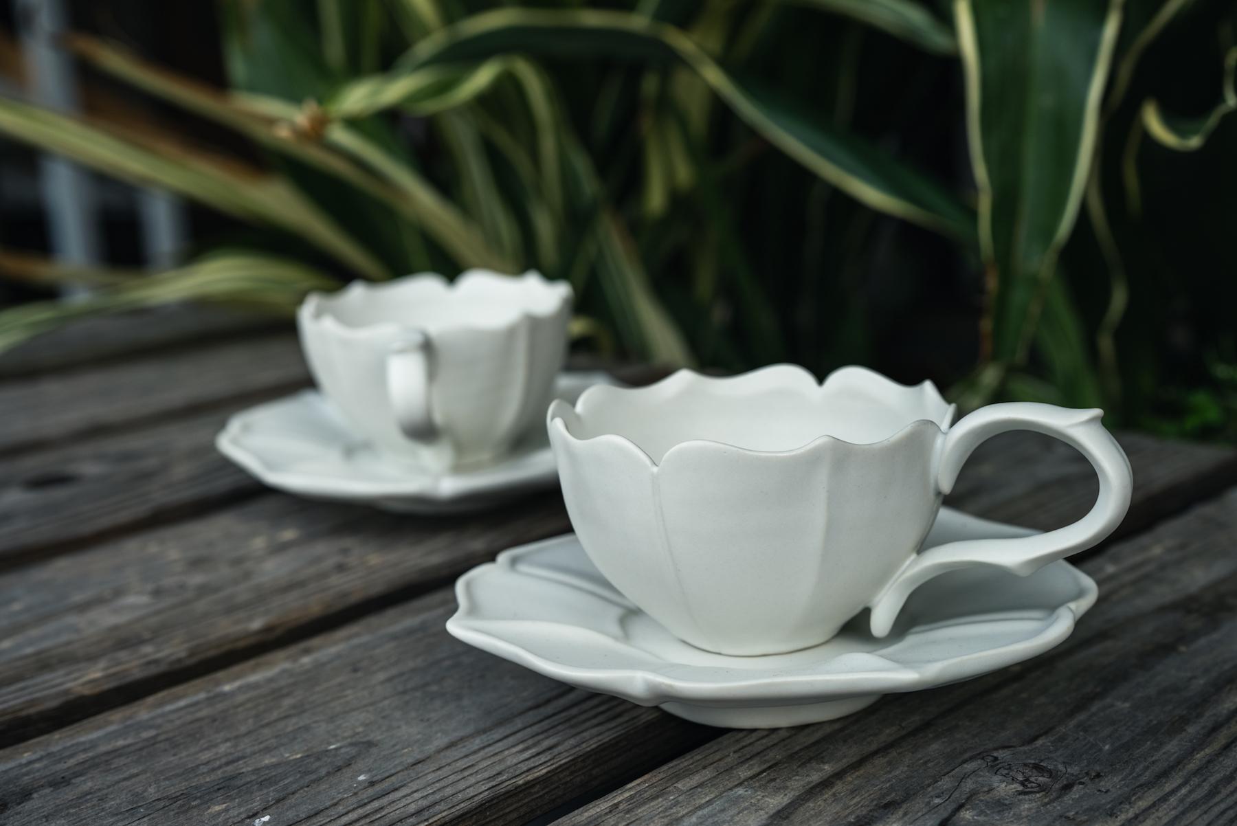 「コーヒーカップが好きで、毎年作るんです。」という宇佐美さん。自分の好きなものを楽しんで作れるのは、職人の醍醐味の一つかもしれませんね。
